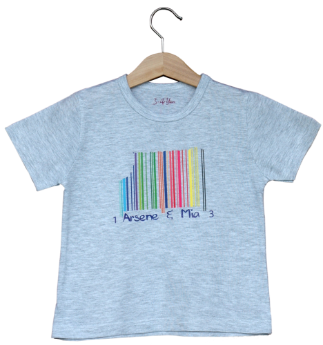 Shirt Pop-Barcode Sfr. 45.-